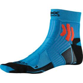 X-Socks Trail Run Energy Socks Men teal blue/sunset orange